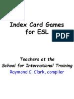 61785505 Index Card Games