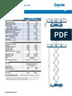 Scissors lift checklist GS-3384RT
