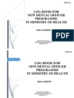 Log Book NDOP-Oral Surgery Book 1B