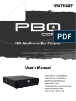 PBO Core Manual- English