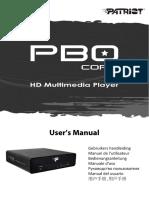 PBO Core Manual- English