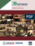 ECOnirman Prescriptive UserManual