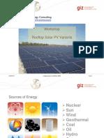 Indo EBTKE ConEx - GIZ Workshop - 1_Rooftop Solar PV Variants_sml