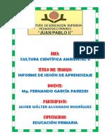 Informe Walter Alvarado