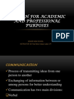 English for Academic and Professional Purposes Ppt