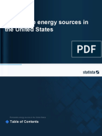 Study Id12875 Renewable Energy Sources in the United States Statista Dossier