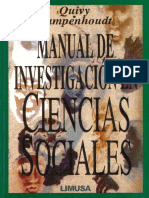 Quivy Campenhoudt Manual de Investigacion en Ciencias Sociales