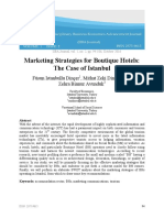 01 02 05 Marketing Strategies for Boutique Hotels the Case of Istanbul IIBAJournal