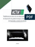 Actia Presentacion OBD Madrid