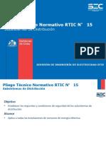 RTIC 15 Subsistemas de Distribución