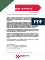 280917_Comunicado Drummond Ltd Firma CCT Con Sintradem