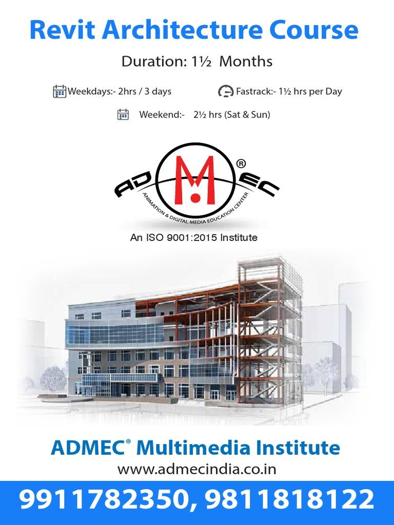 Revit Architecture Course   Autodesk Revit   Art Media