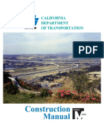 Highway Construction Manual