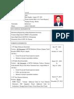 Afriweldi's CV