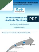 NORMAS INTERNACIONALES CLARIFICADAS