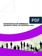 FIR - Estatisticas de Empresas 2016 -Dados Preliminares