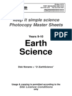 21.EarthScience
