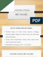 Anemia PKC
