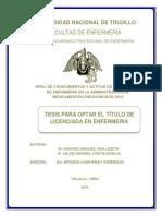TESIS 2016 Conoc y Actitudes de Internas en Administracion Medicamentos