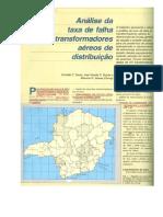 Analise de Falha de Transformadores Aéreos de Distribuição