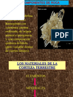 Minerales Compon. de Roca 6666666
