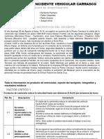 Presentación Investigación Incidente Vehicular Carrasco