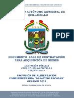 DBC Quillacollo 2018