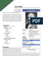 Thomas Hardy (Écrivain)