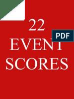 22 Event Scores