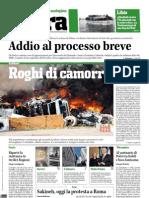 Terra 2 Settembre 2010 - Prima pagina, segue a pag.3
