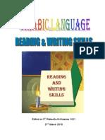 Reading Writing Skills of Arabic