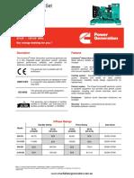 C110D5i Specification Sheet
