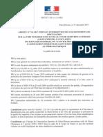 Arrêté Préfectoral Rencontre ASSE NIMES OLYMPIQUE Du 7 Janvier 2018