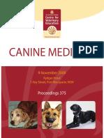 Canine Medicine - 2008