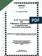 Les Conciles de l'Église catholique légiférant contre Les Juifs