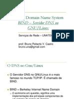 SERVREDES - Aula 10 - DNS aplicado ao LINUX - BIND.pdf