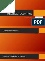 Taller Autocontrol
