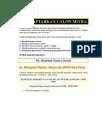 Mendaftarkan Calon Mitra