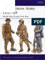 The Chinese Army 1937-49 World War II and Civil War
