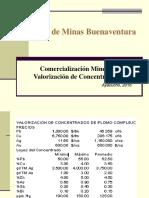 3.3.Comercialización Minera Buenaventura