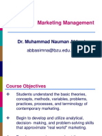Chapter - 1 Marketing Management
