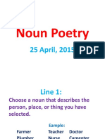 Noun Poetry