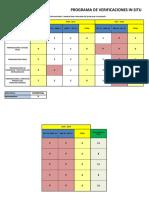 Programa de Verificaciones in Situ