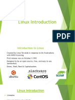 Linux Introduction v2.5