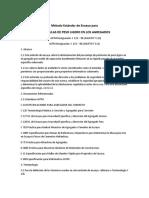 Astm c123 Particulas de Peso Ligero