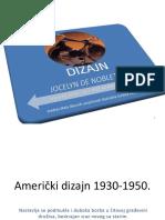 Američki Dizajn 1930-1950.