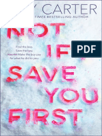 Not If I Save You First (Excerpt)