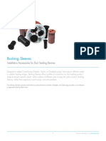 Duct Sealing Bushing Sleeves