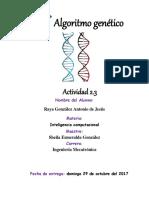 Algoritmo Genetico a Nivel de Bits