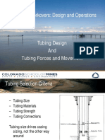 Workover Tubing Design